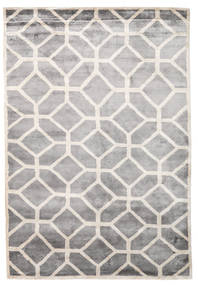 Palace Teppich  170X240 Echter Moderner Handgeknüpfter Hellgrau/Weiß/Creme ( Indien)
