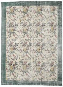 Colored Vintage Teppich  224X307 Echter Moderner Handgeknüpfter Hellgrau/Dunkel Beige (Wolle, Türkei)