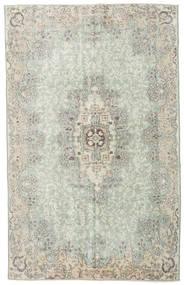 Colored Vintage Teppich 178X286 Echter Moderner Handgeknüpfter Hellgrau/Lindgrün (Wolle, Türkei)