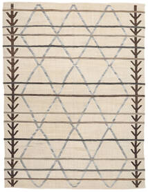 Kelim Halbantik Türkei Teppich  235X310 Echter Orientalischer Handgewebter Beige/Hellgrau (Wolle, Türkei)