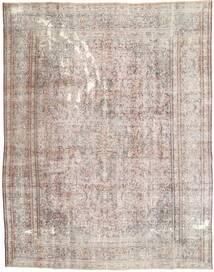 Colored Vintage Teppich  287X375 Echter Moderner Handgeknüpfter Hellgrau/Weiß/Creme Großer (Wolle, Persien/Iran)