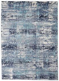 Molgan Teppich  142X206 Moderner Hellblau/Blau ( Türkei)