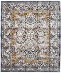 Minna - Gold Teppich  244X304 Moderner Hellgrau/Dunkelgrau ( Türkei)