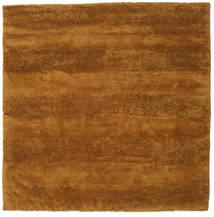 New York - Senfgelb Teppich  250X250 Moderner Quadratisch Braun/Hellbraun Großer (Wolle, Indien)