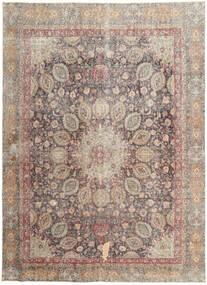 Colored Vintage Teppich 262X358 Echter Moderner Handgeknüpfter Hellgrau/Hellbraun Großer (Wolle, Persien/Iran)
