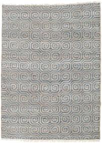 Outdoor-Teppich Thar Jute Teppich 170X240 Echter Moderner Handgewebter Hellgrau/Blau (Jute-Teppich Indien)