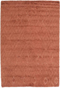Soho Soft - Terracotta Teppich  140X200 Moderner Rot/Dunkelrot (Wolle, Indien)