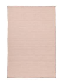 Kelim Loom - Misty Pink Teppich  200X300 Echter Moderner Handgewebter Hellrosa/Helllila (Wolle, Indien)