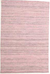Alva - Rosa/Weiß Teppich  160X230 Echter Moderner Handgewebter Hellrosa/Helllila (Wolle, Indien)