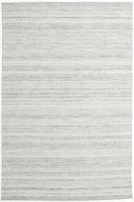 Alva - Grau/Weiß Teppich  200X300 Echter Moderner Handgewebter Hellgrau (Wolle, Indien)