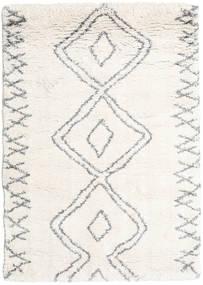 Berber Shaggy Massin Teppich  240X300 Moderner Beige/Hellgrau ( Türkei)