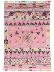 Fanny Teppich  200X300 Echter Moderner Handgeknüpfter Hellrosa/Hellgrau (Wolle, Indien)
