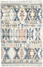Märta - Blau Teppich  200X300 Echter Moderner Handgeknüpfter Hellgrau/Weiß/Creme (Wolle, Indien)