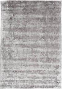 Crystal - Sanftes Grau Teppich  160X230 Moderner Hellgrau/Dunkelgrau ( Indien)