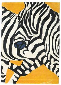 Zebra - 2018 Teppich  160X230 Moderner Beige/Schwartz (Wolle, Indien)
