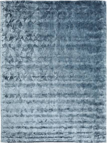 Crystal - Steel Blue Teppich  300X400 Moderner Dunkelblau/Hellblau/Blau Großer ( Indien)