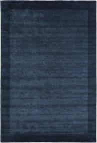 Handloom Frame - Dunkelblau Teppich  200X300 Moderner Dunkelblau/Blau (Wolle, Indien)