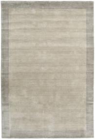 Handloom Frame - Greige Teppich  160X230 Moderner Hellgrau (Wolle, Indien)