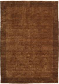Handloom Frame - Braun Teppich  160X230 Moderner Braun/Dunkelbraun (Wolle, Indien)