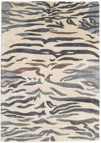 Love Tiger - Grau Teppich  160X230 Moderner Beige/Dunkelgrau/Hellgrau ( Indien)