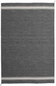 Ernst - Dunkelgrau/Hellbeige Teppich  200X300 Echter Moderner Handgewebter Dunkelgrau/Dunkelbraun (Wolle, Indien)
