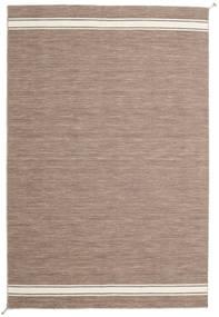 Ernst - Hellbraun/Naturweiß Teppich  250X350 Echter Moderner Handgewebter Hellgrau Großer (Wolle, Indien)