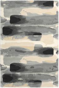 Ink - Grau Teppich  200X300 Moderner Hellgrau/Beige (Wolle, Indien)