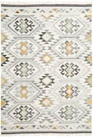 Mirzapur Teppich  240X340 Echter Moderner Handgewebter Dunkel Beige/Beige (Wolle, Indien)