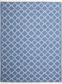London - Blau/Naturweiß Teppich  300X400 Echter Moderner Handgewebter Blau/Beige Großer (Wolle, Indien)