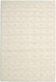 Romby - Off-Weiß Teppich  200X300 Echter Moderner Handgewebter Beige/Dunkel Beige (Wolle, Indien)