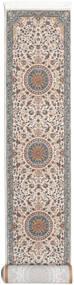 Negar Teppich  80X500 Orientalischer Läufer Hellgrau/Beige ( Türkei)