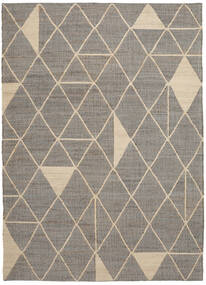 Outdoor-Teppich Berber Jute Teppich  250X350 Echter Moderner Handgewebter Hellgrau/Beige Großer (Jute-Teppich Indien)