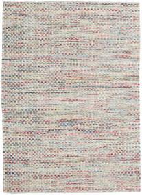 Tindra - Pastel Multi Teppich  140X200 Echter Moderner Handgewebter Hellgrau/Dunkel Beige (Wolle, Indien)