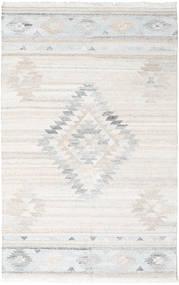 Outdoor-Teppich Tulum Teppich  200X300 Echter Moderner Handgewebter Hellgrau/Beige ( Indien)