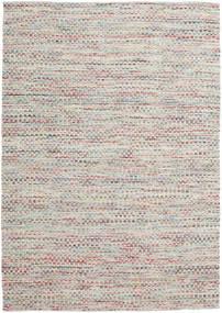 Tindra - Pastel Multi Teppich  200X300 Echter Moderner Handgewebter Hellgrau (Wolle, Indien)