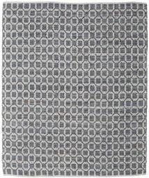 Elna - Grau Teppich  250X300 Echter Moderner Handgewebter Hellgrau/Dunkelgrau Großer (Baumwolle, Indien)