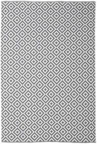 Torun - Grau/Neutral Teppich  200X300 Echter Moderner Handgewebter Hellgrau/Dunkelgrau/Beige (Baumwolle, Indien)