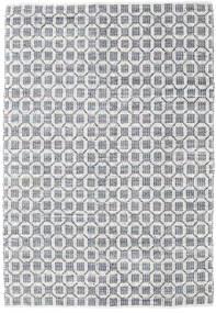 Elna - Grau Teppich  200X300 Echter Moderner Handgewebter Hellgrau/Weiß/Creme (Baumwolle, Indien)