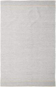 Norma - Gelb Teppich  200X300 Echter Moderner Handgewebter Hellgrau (Baumwolle, Indien)