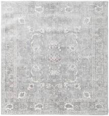 Maharani - Grau Teppich  200X200 Moderner Quadratisch Hellgrau ( Türkei)