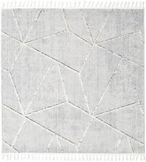 Scandic Teppich  200X200 Moderner Quadratisch Hellgrau/Beige ( Türkei)