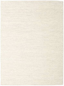 Kelim Honey Comb - Beige Teppich  140X200 Echter Moderner Handgewebter Beige/Weiß/Creme (Wolle, Indien)