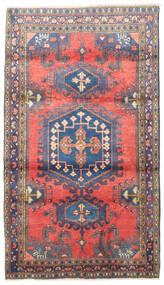 Wiss Teppich  110X190 Echter Orientalischer Handgeknüpfter Schwartz/Helllila (Wolle, Persien/Iran)