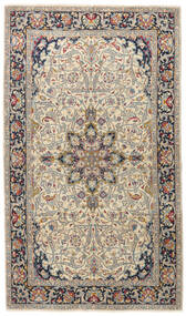 Kerman Patina Teppich 116X200 Echter Orientalischer Handgeknüpfter Hellgrau/Dunkelgrau (Wolle, Persien/Iran)