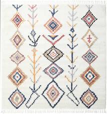 Rauma - Naturweiß Teppich  250X250 Moderner Quadratisch Weiß/Creme/Beige Großer ( Türkei)