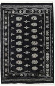 Pakistan Buchara 2Ply Teppich  135X202 Echter Orientalischer Handgeknüpfter Schwartz/Dunkelgrau (Wolle, Pakistan)