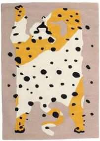 The Spotty Cat - Beige/Multi Teppich  160X230 Moderner Beige/Hellbraun (Wolle, Indien)