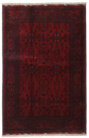 Afghan Khal Mohammadi Teppich  128X191 Echter Orientalischer Handgeknüpfter Dunkelrot (Wolle, Afghanistan)