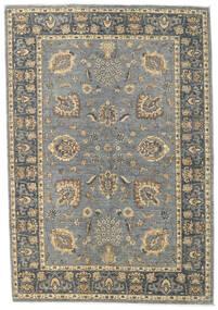 Ziegler Ariana Teppich  166X240 Echter Orientalischer Handgeknüpfter Hellgrau/Dunkelgrau (Wolle, Afghanistan)
