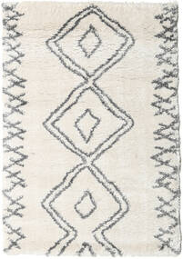 Berber Shaggy Massin Teppich  120X170 Moderner Beige/Hellgrau/Dunkel Beige ( Türkei)
